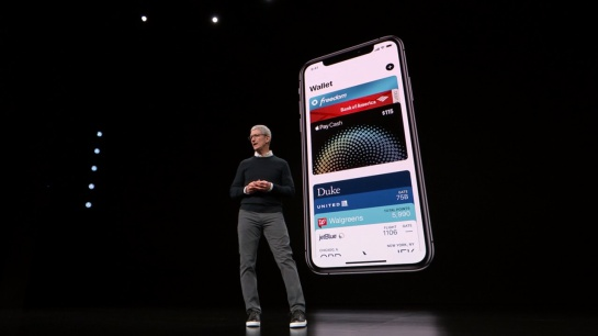 Presentación de Apple Wallet en el Apple Event