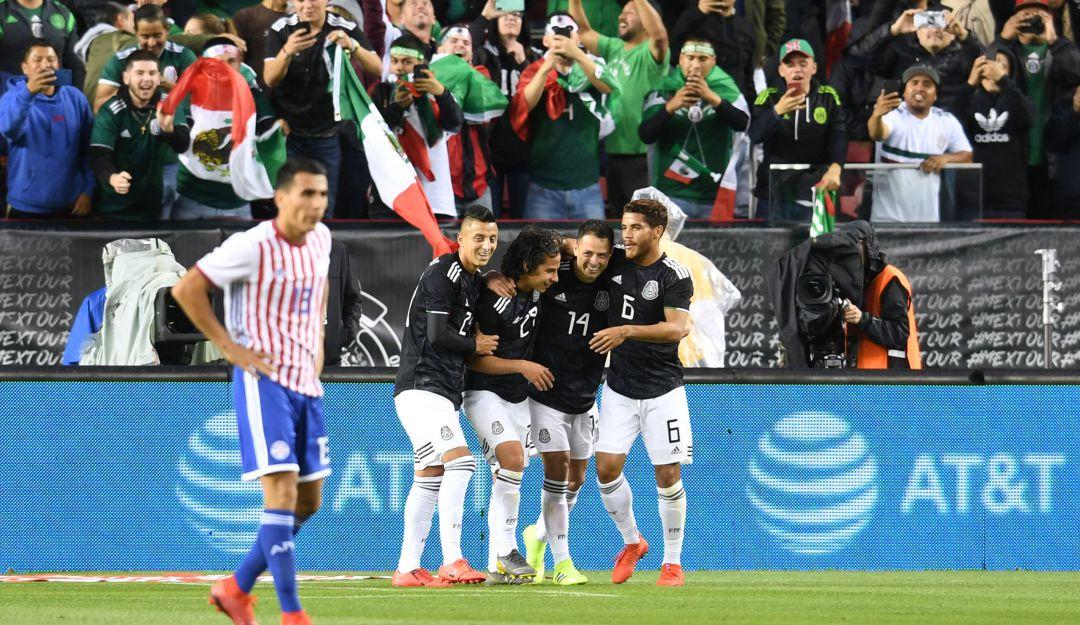 México derrotó a Paraguay