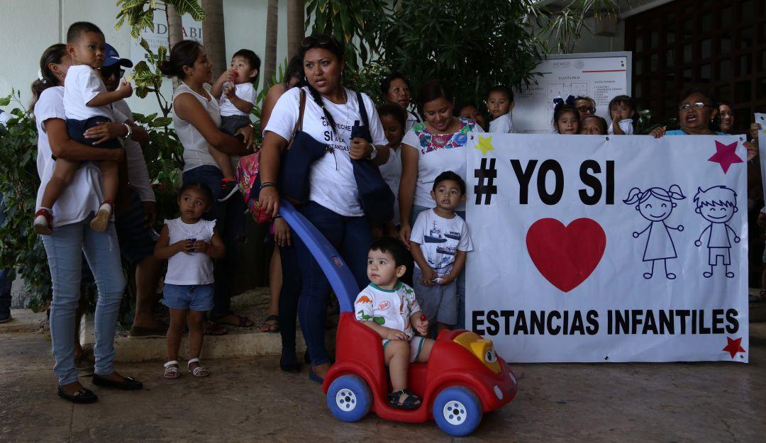 Interponen amparo para tutelar derechos de 37 estancias infantiles