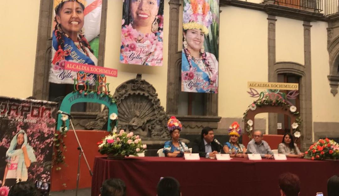 """Arma tu plan; disfruta en Xochimilco """"La flor más bella del ejido 2019"""""""