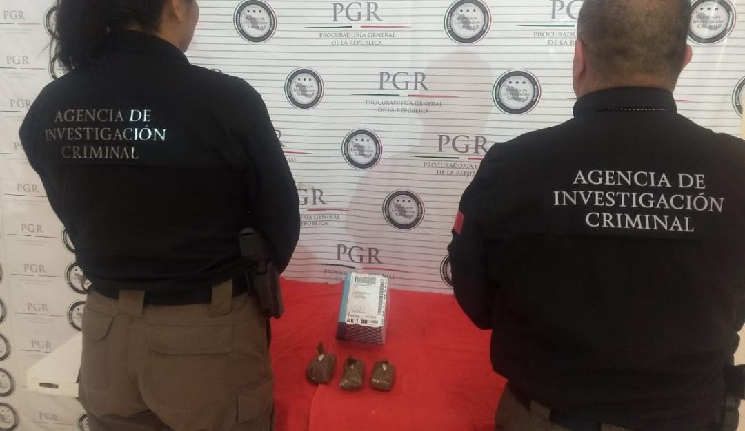 FGR incauta un kilo metanfetamina en Lagos de Moreno