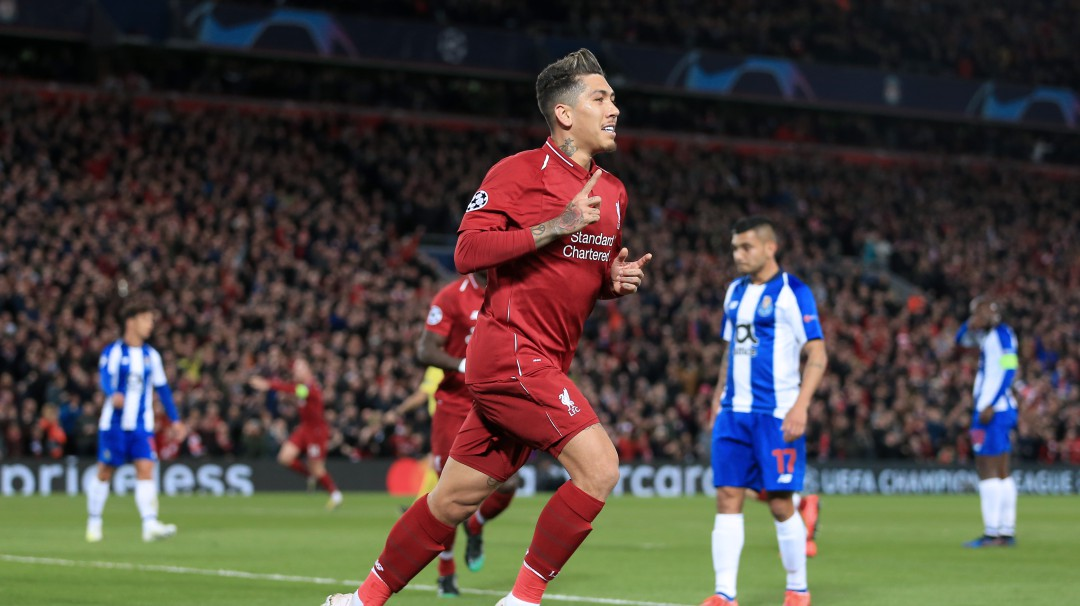 El Liverpool dejó muy herido al Porto