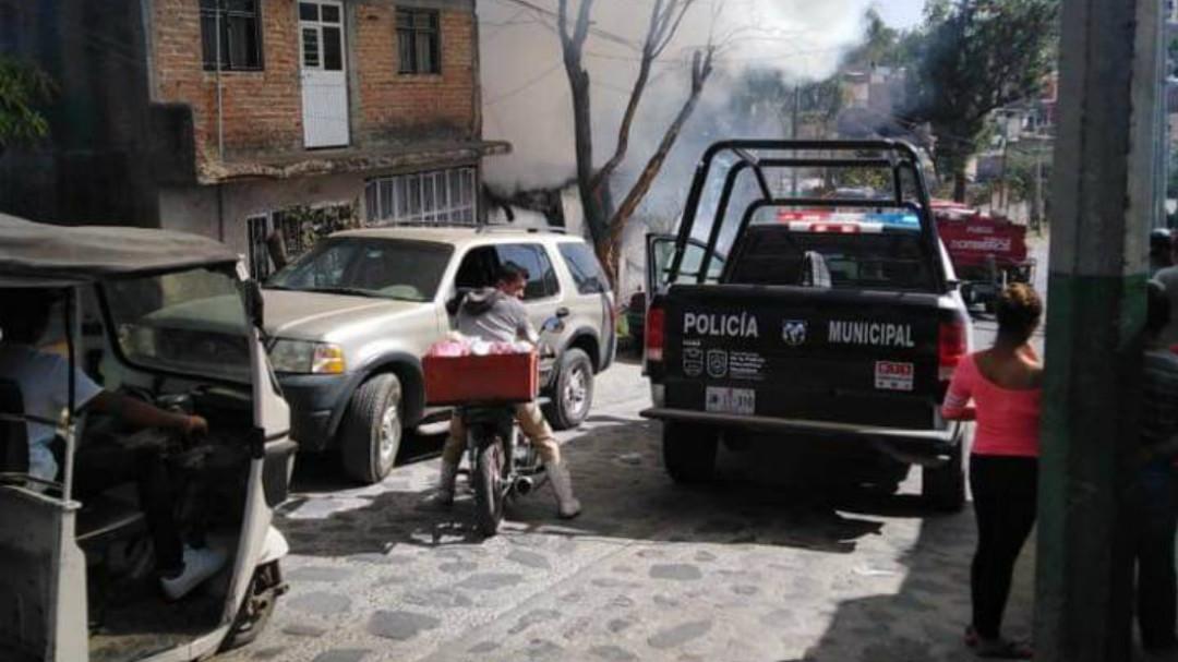 Incendio deja dos muertos en la colonia Jalisco