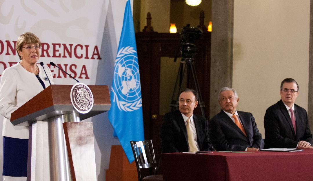 Firman México y la ONU convenio para formación de la Guardia Nacional