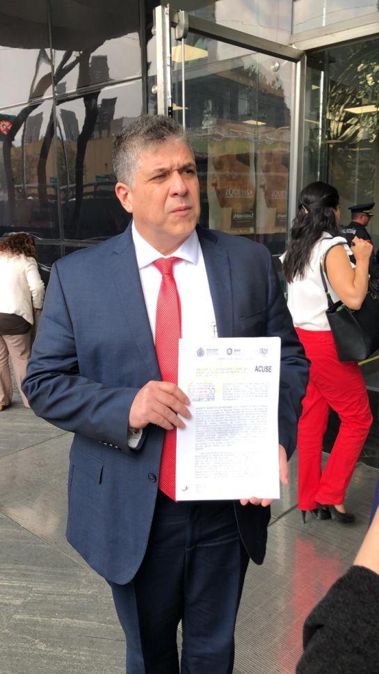 Denuncian ante la FGR a ex servidores del gobierno de Veracruz