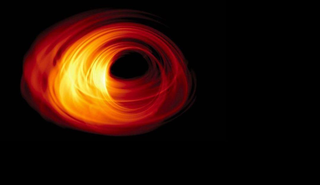 Dan a conocer la primera fotografía de un agujero negro