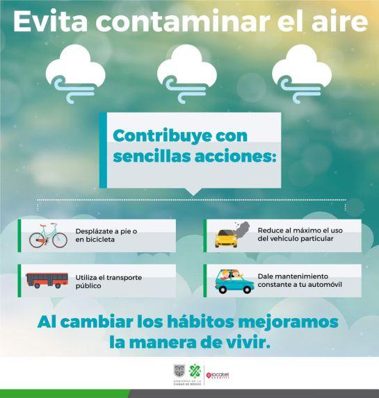 Se activa Fase I de Contingencia Ambiental en el Valle de México
