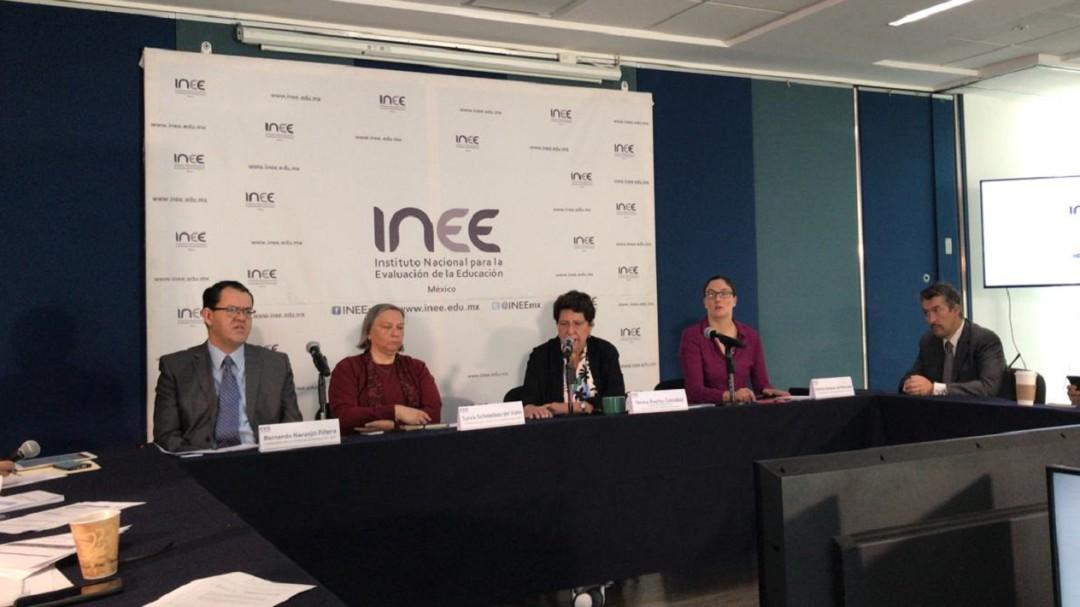 Plazas de docentes, asignadas por concurso: INEE