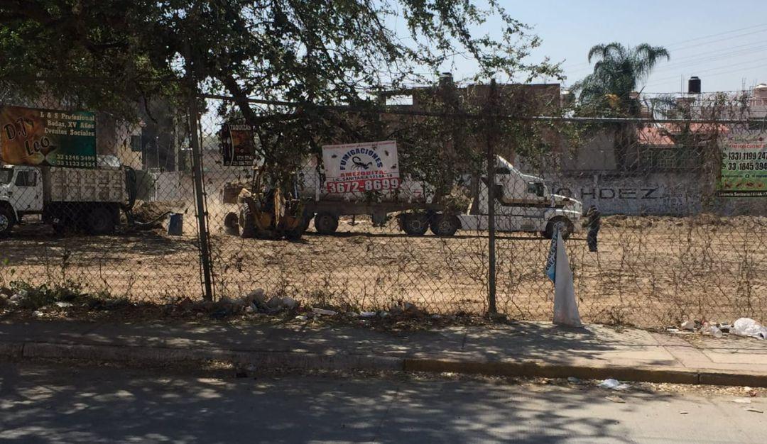 Vecinos amenazan con parar obras en Huentitán