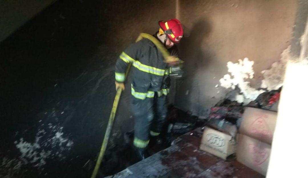 Se incendia edificio en el centro tapatío