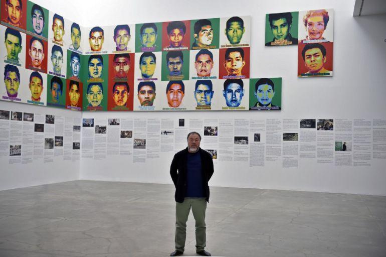 Ai Weiwei, el artista chino que con 1 millón de legos recuerda Ayotzinapa