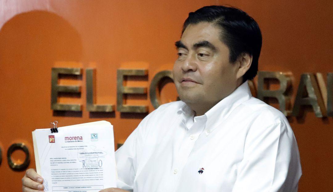 TEPJF pide a Morena explicar selección de Barbosa como candidato