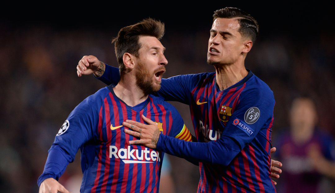 Barcelona derrotó al Manchester United.