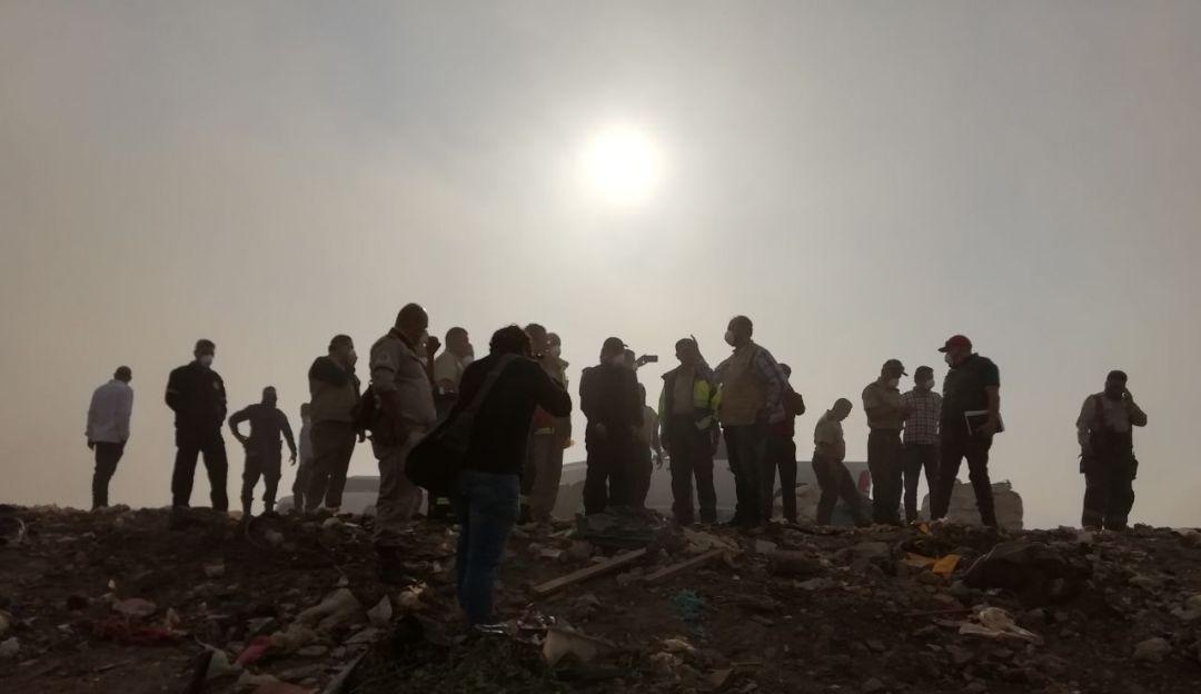 Suman 3 días las labores en basurero Los Laureles