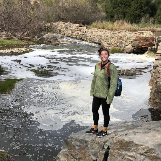 Estudiante Andrea Norton pierde la vida en Hawksbill Crag