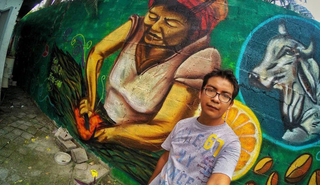 Asesinan al muralista Héctor Domínguez en SLP