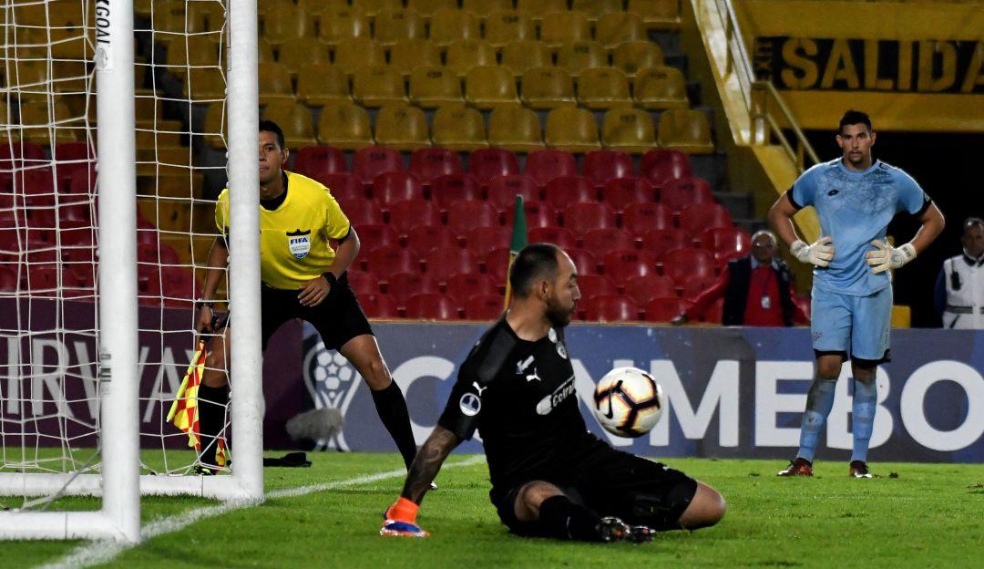 Penal atajado por la Copa Sudamericana