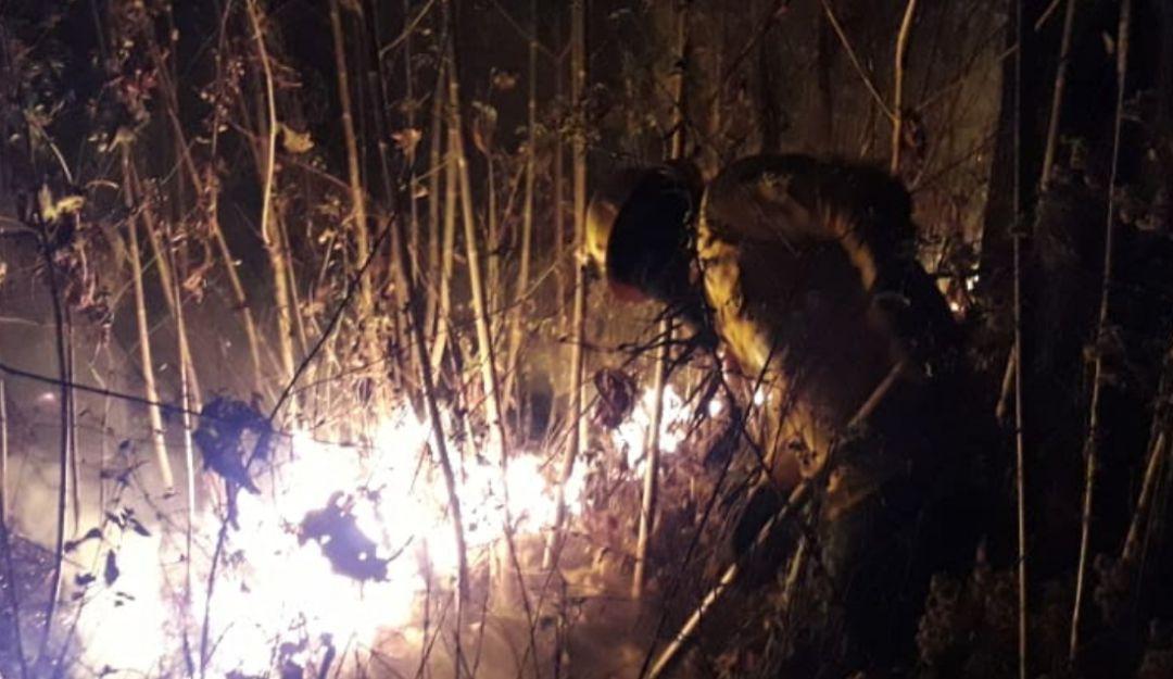 Detenido causante de incendio en el Centinela