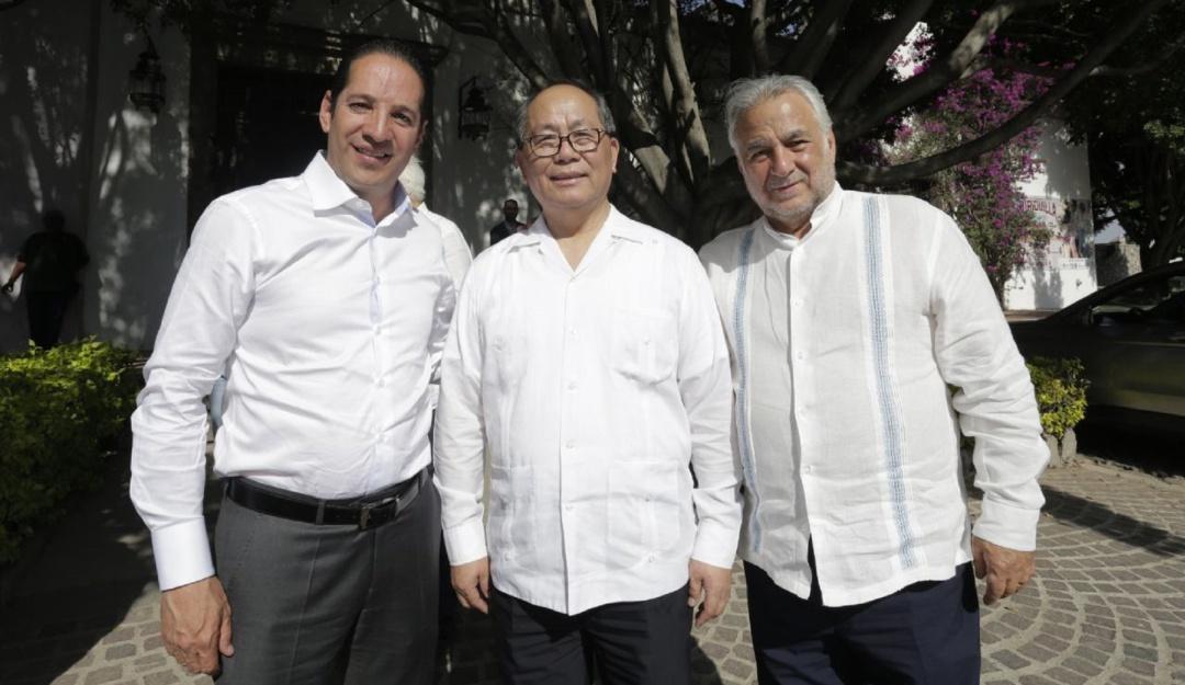 Gobernador de Querétaro recibe a Secretario de Turismo Federal