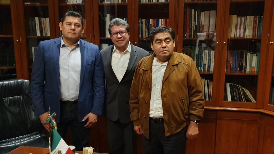 Terminan afrenta; Armenta apoya a Barbosa y van por Puebla