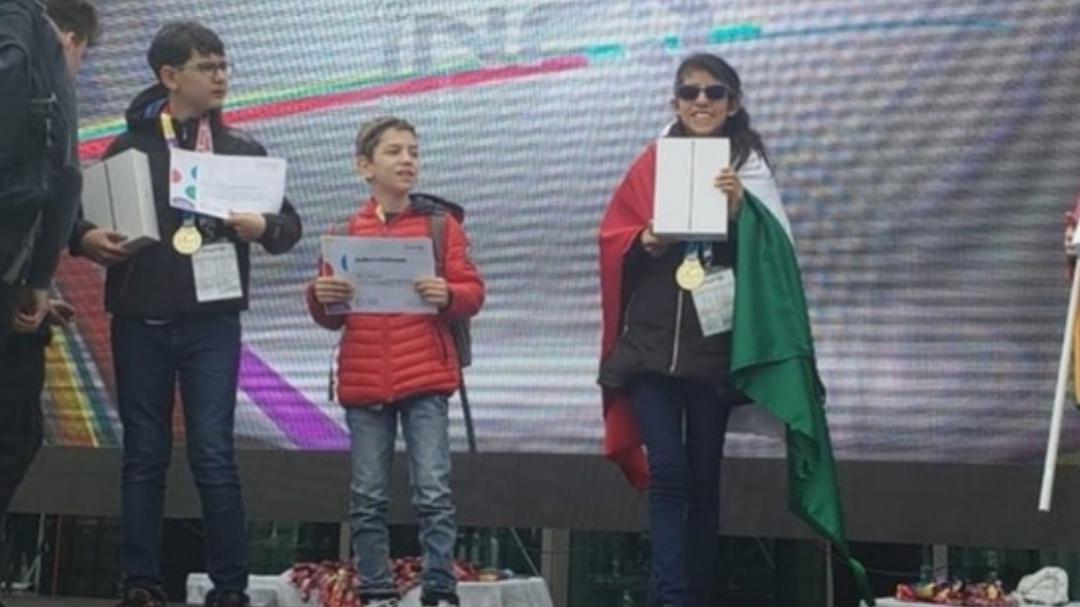 Niños mexicanos ganan torneo de Robótica en Rumania
