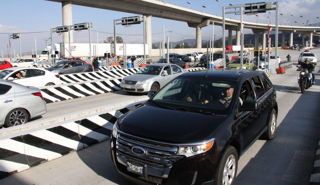 PF y policía capitalina vigilan regreso de vacacionistas a la CDMX