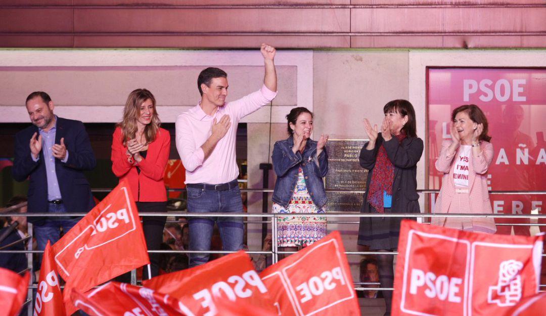 El #PSOE necesitará el apoyo de otros partidos