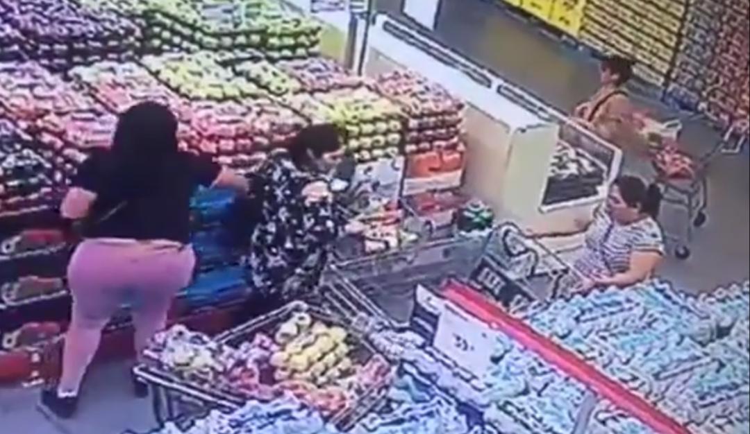 Modus operandi de carteristas en el supermercado ¡Alerta!