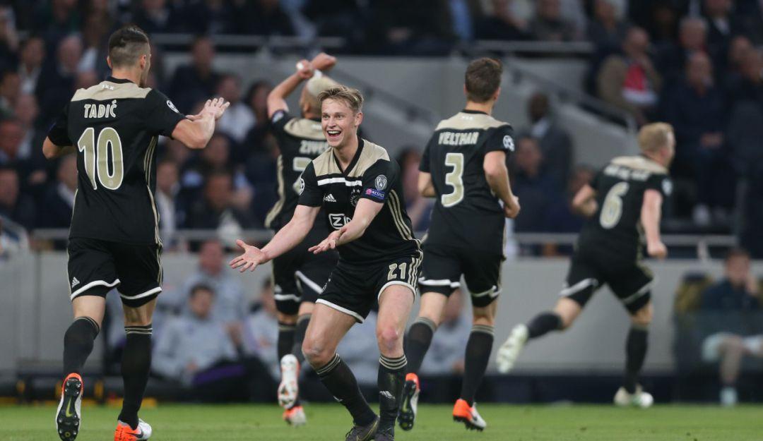 Ajax venció al Tottenham