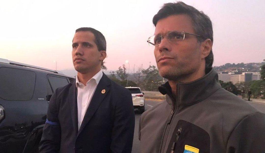 Liberan a Leopoldo López, líder opositor venezolano