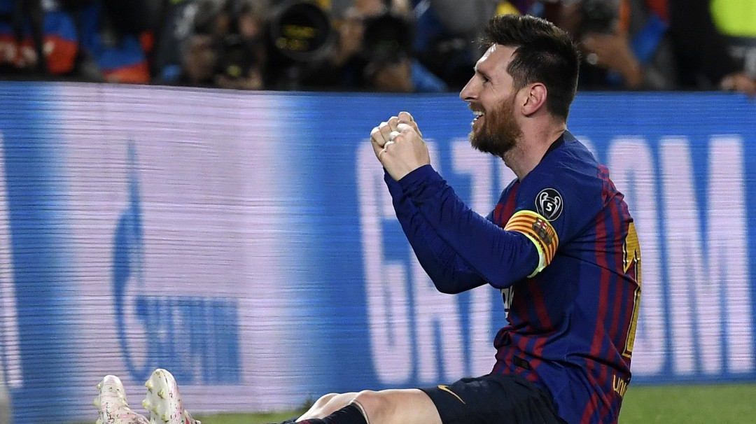 Barcelona tiene un pie en la final de la Champions League