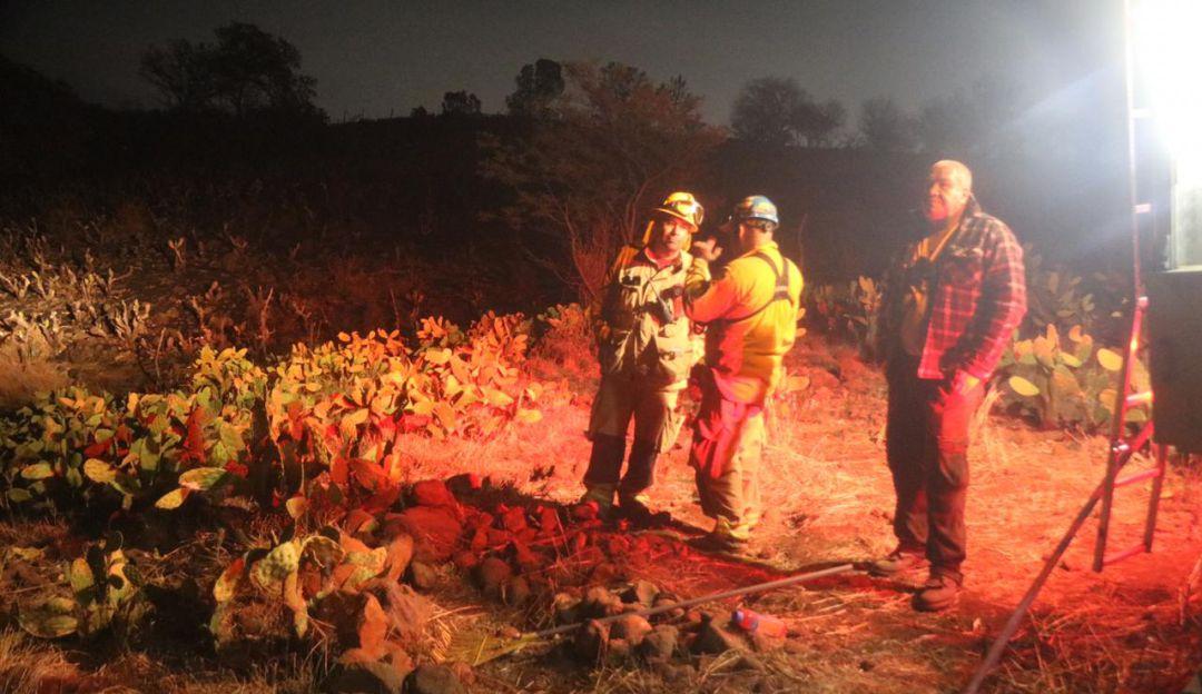 Controlan incendio en la delegación de San Esteban