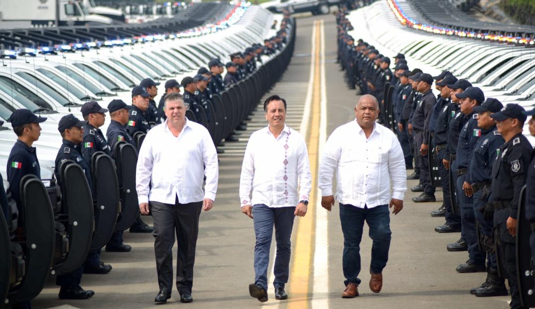 Gobierno de Veracruz invierte 200 mdp para reforzar la seguridad del estado