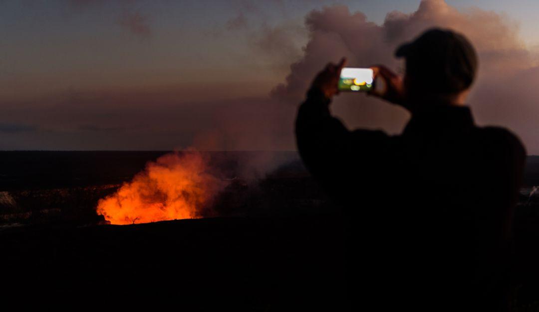 Kilauea: Turista cae en cráter de volcán
