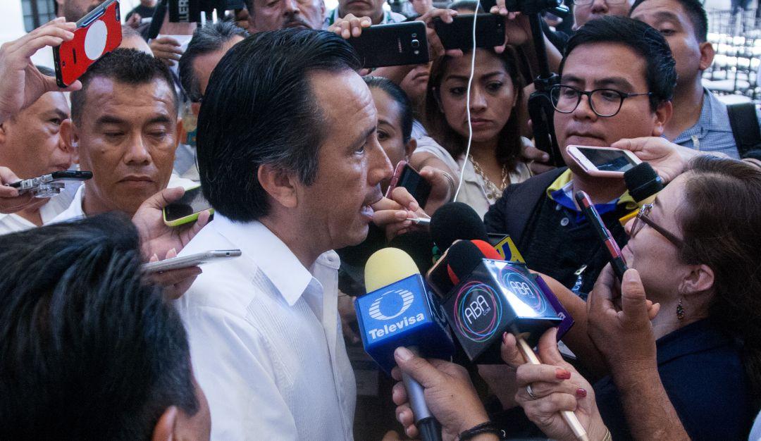"Confirma gobernador de Veracruz captura de ""El Pelón"""