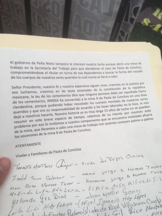 Pedirá AMLO apoyo a EU, China y Alemania para rescate en Pasta de Conchos