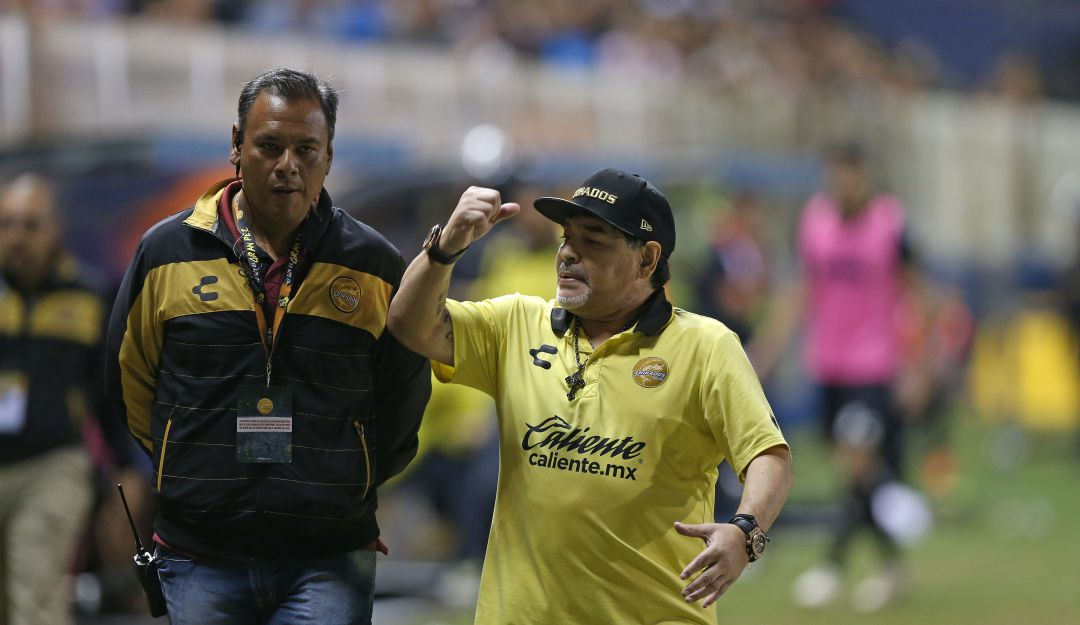 Diego Armando Maradona fue insultado