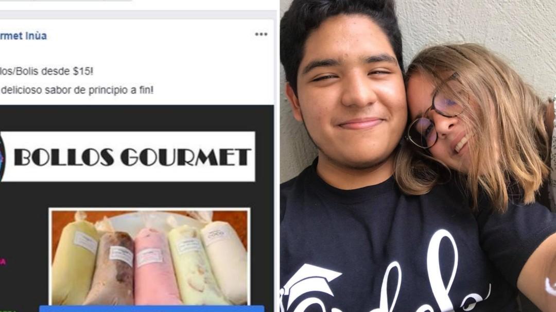 Eso es amor: vende bollos para visitar a su novia en Francia