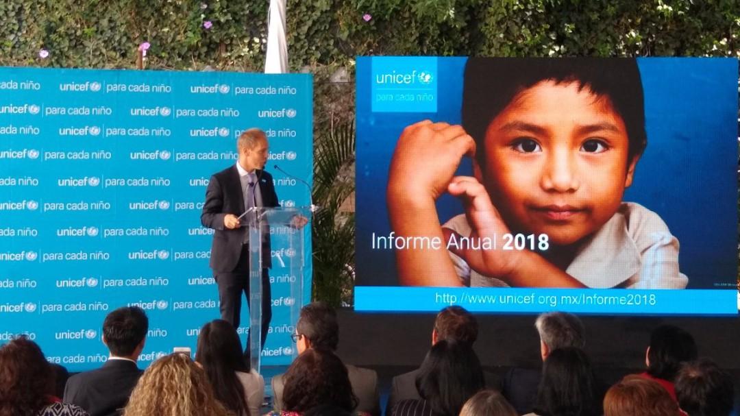 UNICEF:Violencia limita desarrollo de los niños mexicanos