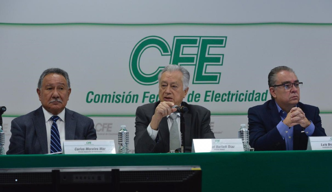 Lista la CFE para enfrentar temporada de huracanes 2019: Manuel Bartlett
