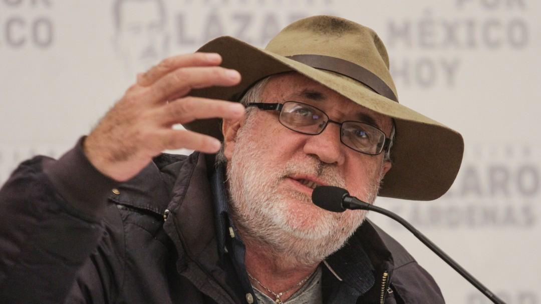 Javier Sicilia protesta contra violencia en Morelos