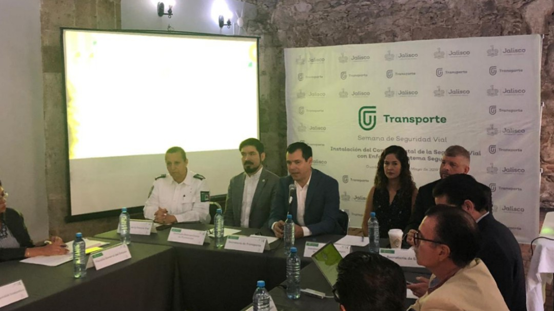 Conforman el Comité Estatal de Seguridad Vial