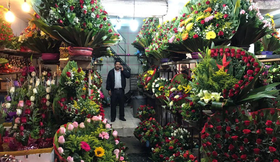 El Mercado De Flores De Jamaica Uno De Los Más Concurridos