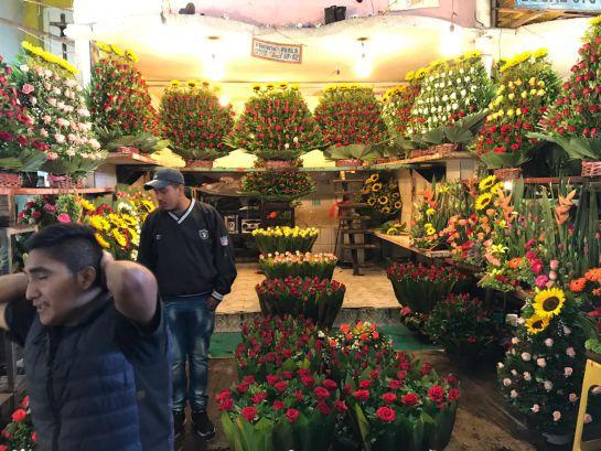 El Mercado de Flores de Jamaica, uno de los más concurridos este 10 de Mayo