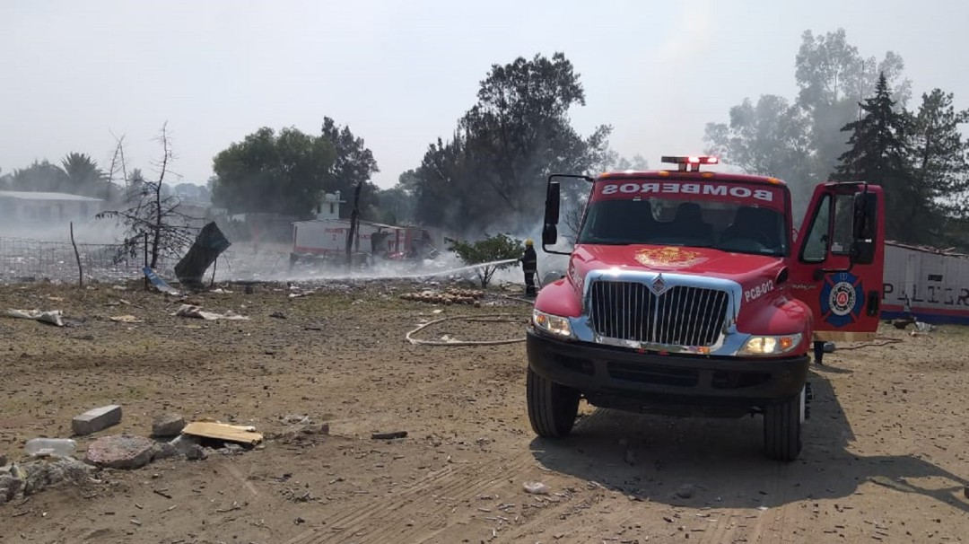 Explosión en Tultepec cobra vida de una persona