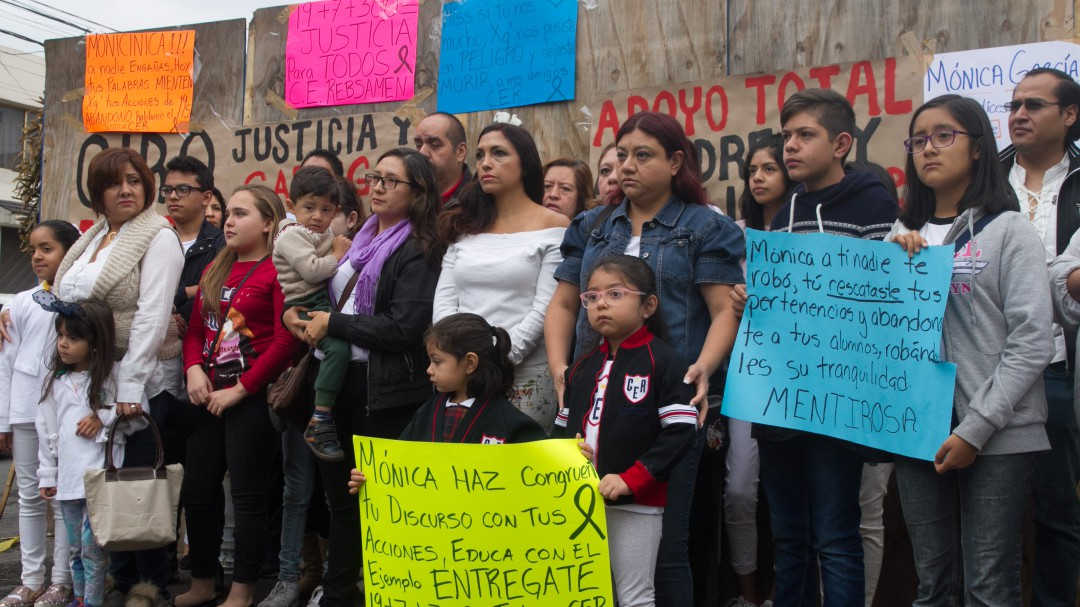 Detienen a la directora del Colegio Rébsamen tras denuncia ciudadana