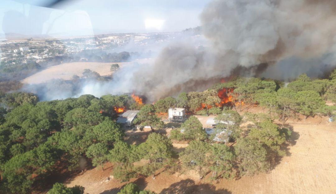 Este año se han presentado 47 incendios