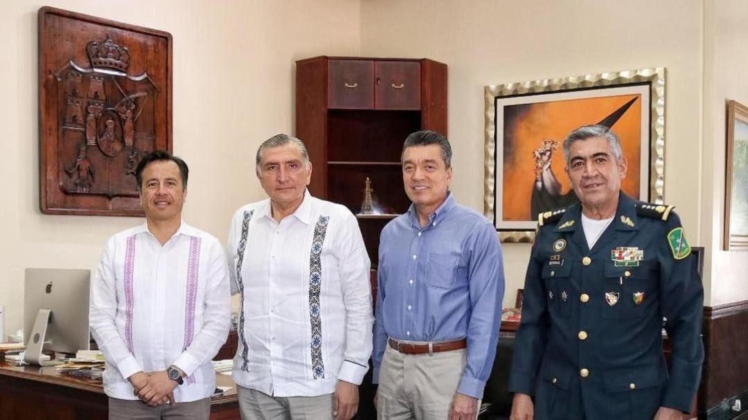 Integra Veracruz plan de paz con Chiapas y Tabasco