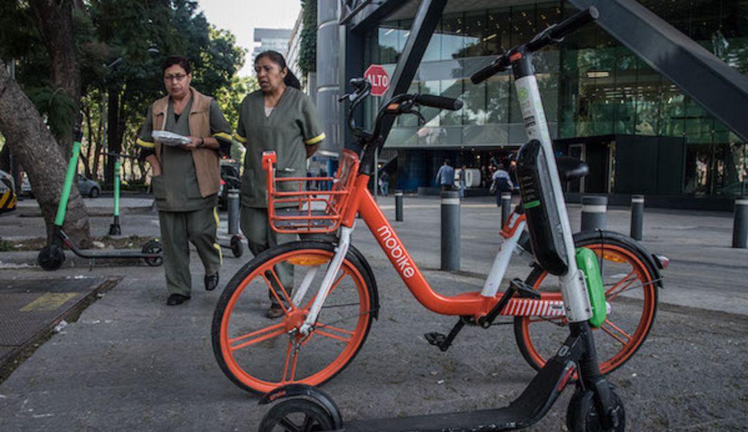 Al corralón; bicicletas y monopatines si no cumplen normas