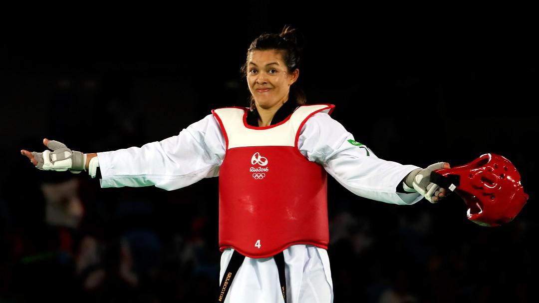 María Espinoza se cuelga la plata en el Mundial de Tae Kwon Do